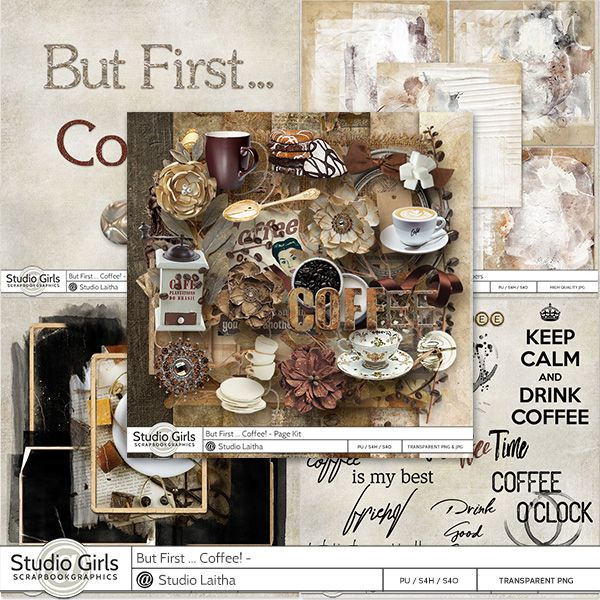 But First .. Coffee! - Bundle