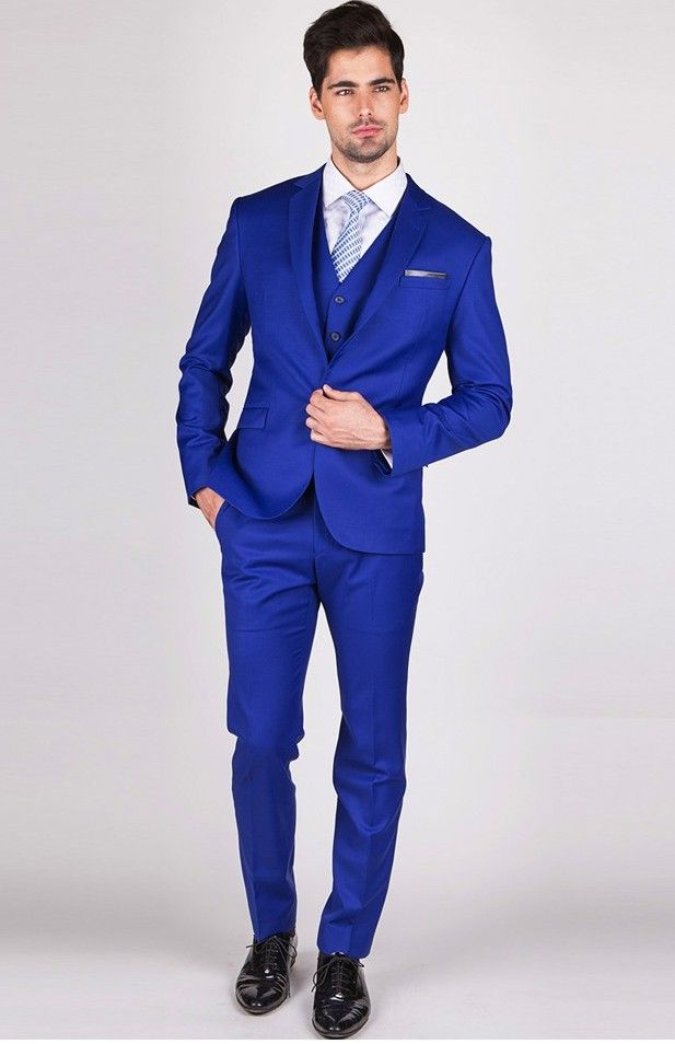 12 best Groom images on Pinterest | Blue suits, Blue suit wedding ...