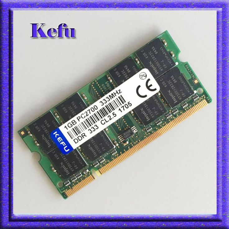 5.99$  Watch now - DDR1 1GB PC2700 DDR333 200PIN SODIMM Laptop MEMORY 1G 200-pin SO-DIMM RAM DDR Laptop Notebook MEMORY Free Shipping   #buyonline