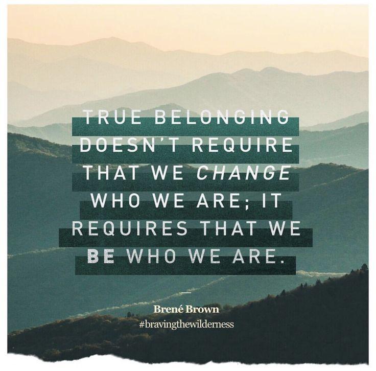 We all belong to