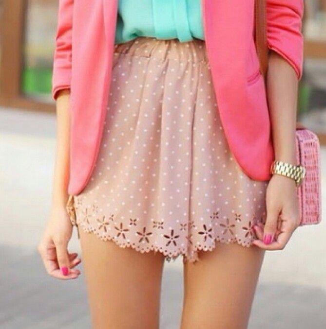Les 22 Meilleures Images Propos De Girly Fashion Sur Pinterest Shorts D 39 T Jour De La