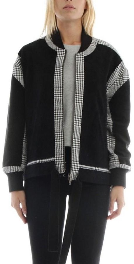 Current Air Houndstooth Jacket