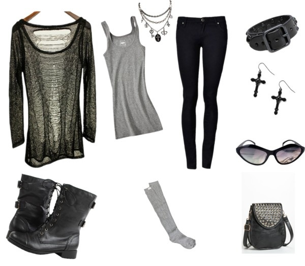 """Punk Chic"" by raiyna2011 on Polyvore"