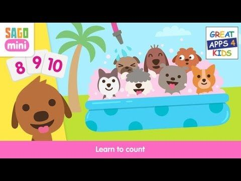 Sago Mini Puppy Preschool | Playful Learning Activities App for Toddlers...