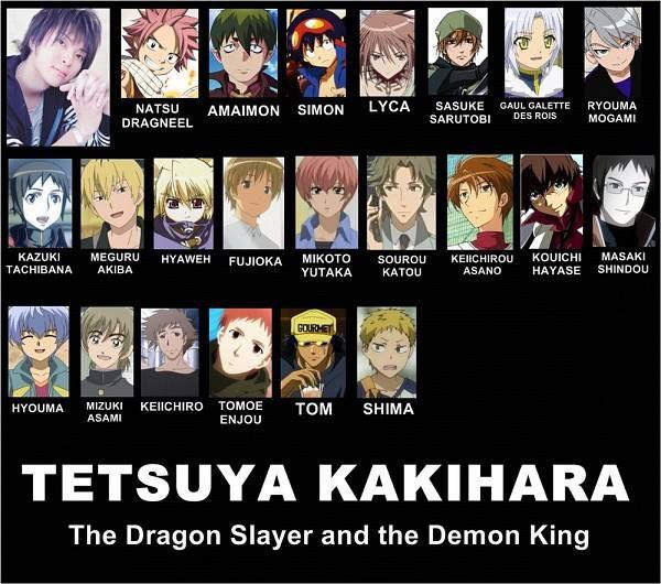 Natsu and Amaimon's voice actor!!  Tetsuya Kakihara
