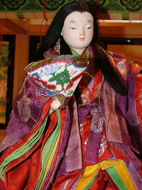 The courtier's life of the Tale of Genji, Heian Era by crimsongriffin28, via Flickr