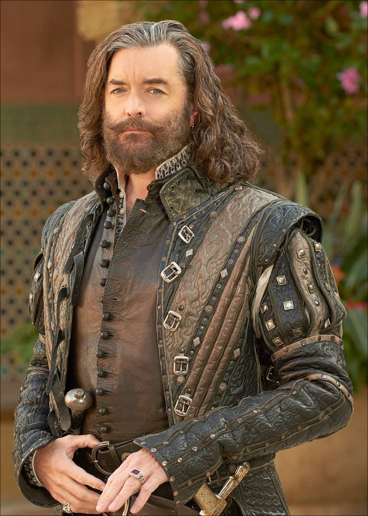 This doublet is a great example of how high definition television has greatly impacted the details of what we see. Makeup artists, set designers and costume designers all have to be even more focused...