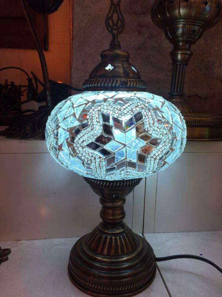BLUE TURKISH MOSAIC TABLE LAMP