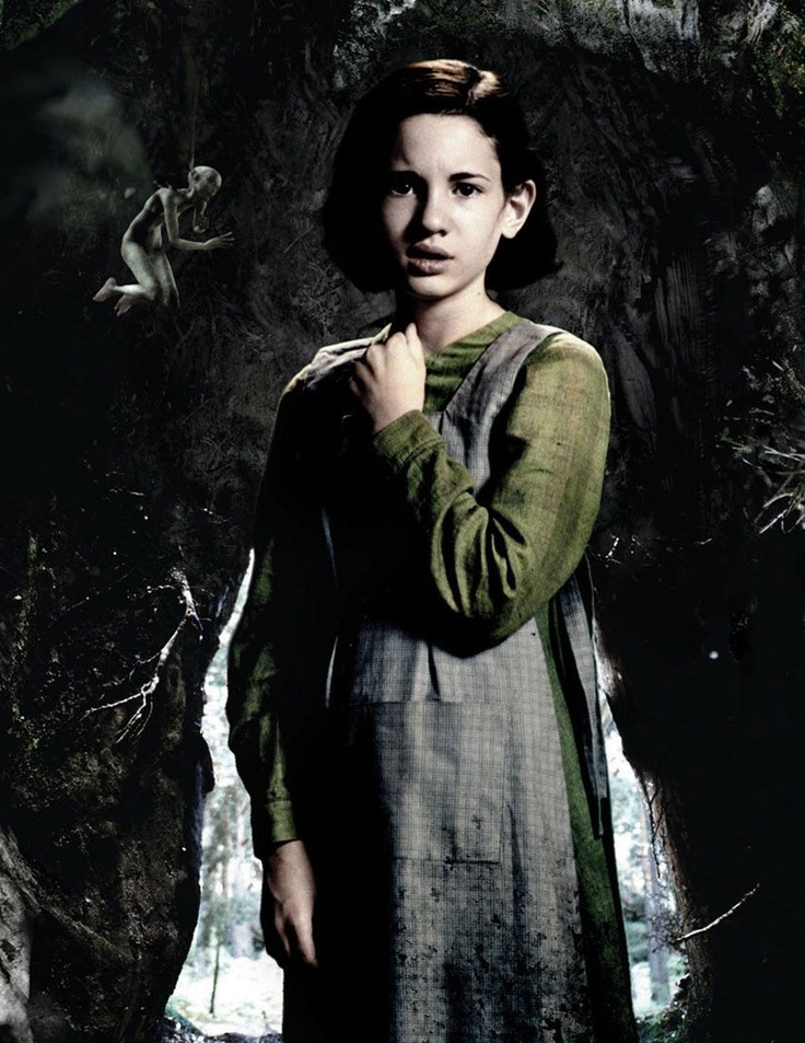 Ivana Baquero as 'Ofelia' in Guillermo del Toro's Pan's Labyrinth (2006)