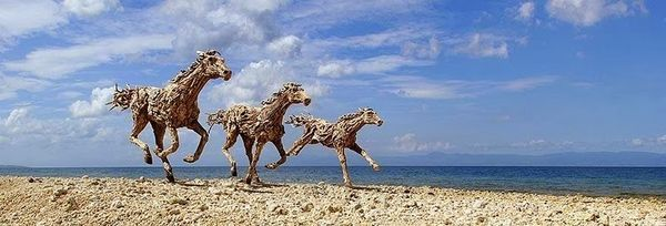 Top 9 des incroyables sculptures de chevaux en bois, par James Doran Webb