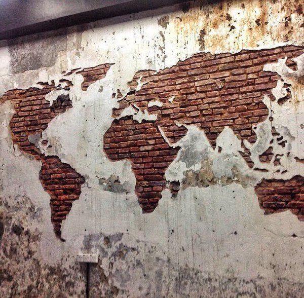 DIY colour in bricks as you Go - StreetArt