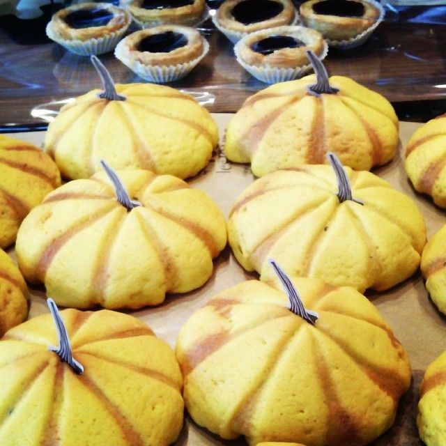 Doughy pumkin pies (or cakes!) in South Korea