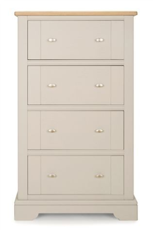 Hampton Chest - Dimensions: H127.5 x W75 x D45 cm.
