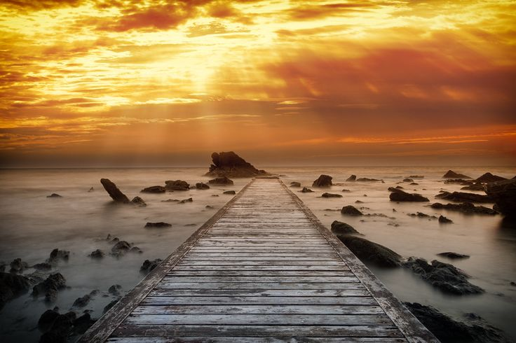 Warm Sunset by Marco Carmassi on 500px