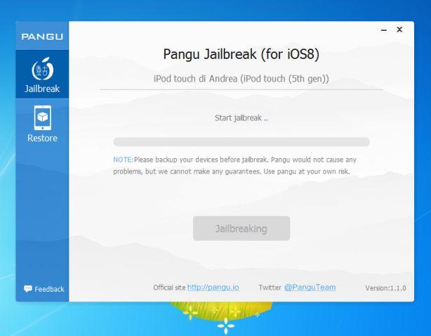 Jailbreak iOS 8.0, 8.0.1, 8.0.2 o 8.1