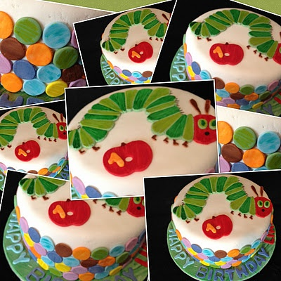Gorgeous 1st birthday Very Hungry Caterpillar cake from my very talented friend @Kristina Coles-Mark
