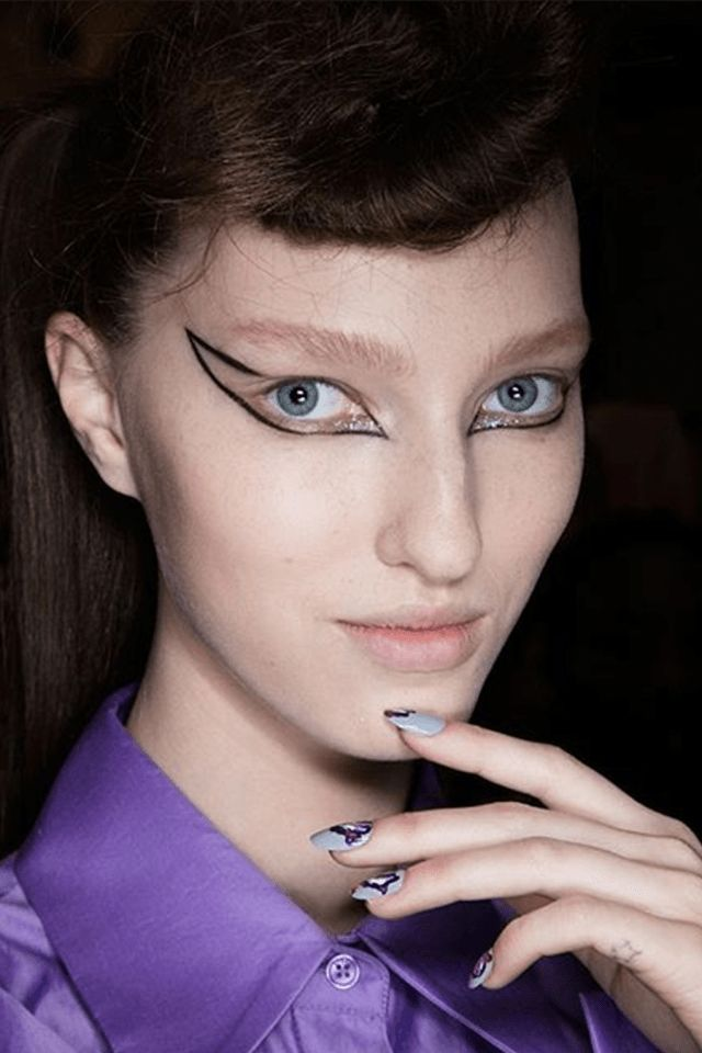 MANICURAS DE MODA OTOÑO INVIERNO 2016-17 - Kenzo nails Fall Winter 2016-17