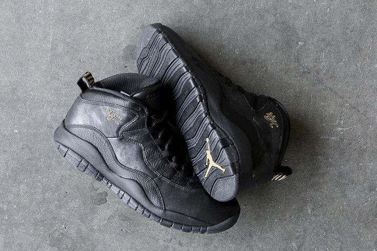 "Air Jordan 10 Retro ""NYC"" City Pack (Detailed Pics & Release Info) - EU Kicks: Sneaker Magazine"