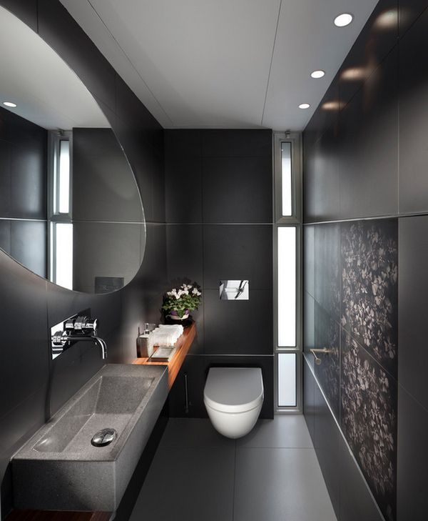 Design Element: COLOR Darker tones of gray can produce brilliant results when employed judiciously! - Decoist