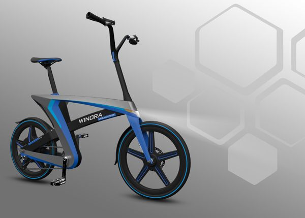 Mo' Bikes, Less Problems  Designer: Mahdi Momeni