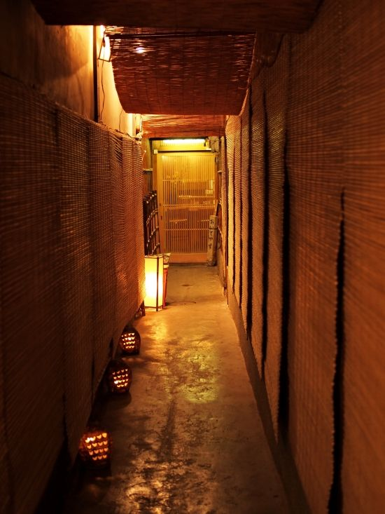 Small mysterious alleys in Kyoto  http://meetyouatthebridge.nl/a-geisha-in-modern-japan-en/