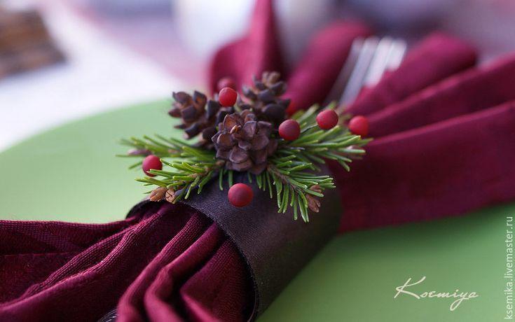 Делаем новогодние кольца для салфеток - Ярмарка Мастеров - ручная работа, handmade