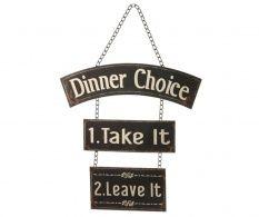Nástenná dekorácia Dinner Choice