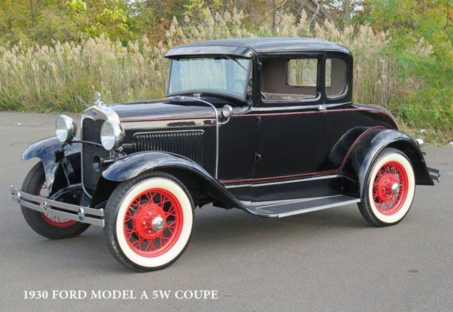 1930 Ford Model A Coupé – Bruce Singbeil