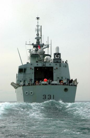 HMCS Vancouver Halifax-class Frigate (Helicopter) FFH