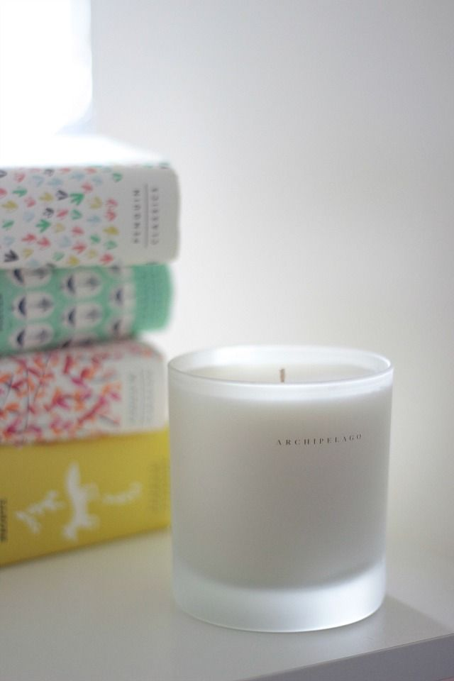 York Avenue: Archipelago Candles. Settle in to relax with a candle and a good book. Yes, please. #rest #thelocalwheel