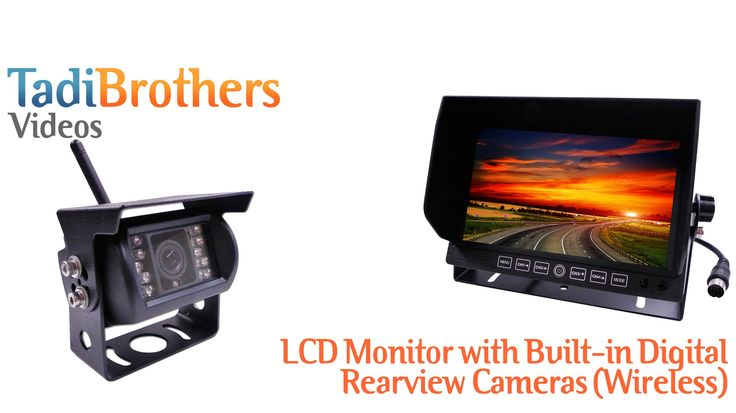 Digital Built In Wireless Backup Camera system from www.tadibrothers.com