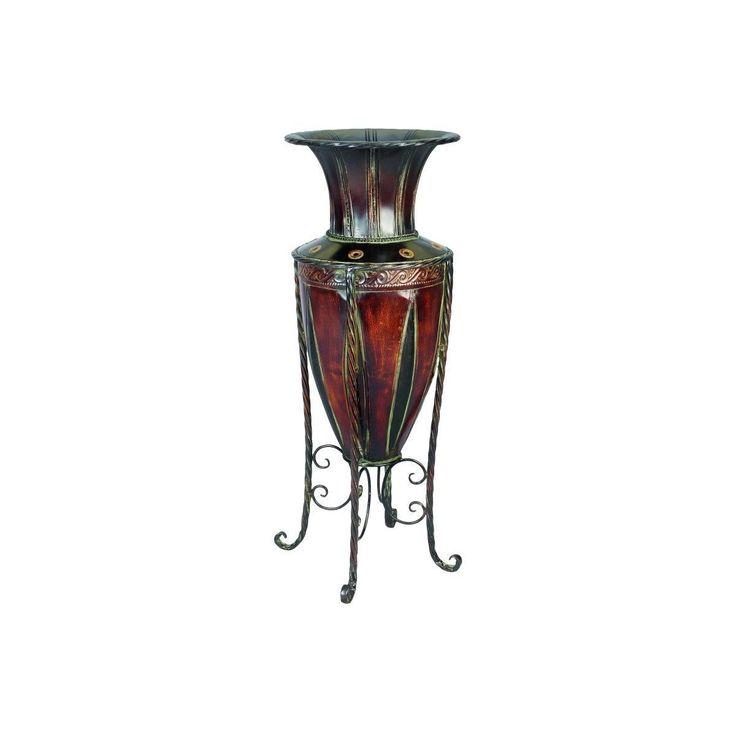 Enterprises Tuscany Style Metal Vase