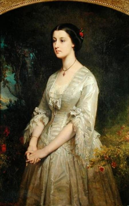 In the Swan's Shadow: Marie de Bonneval, Duchess of Cadore, 1854 (?)