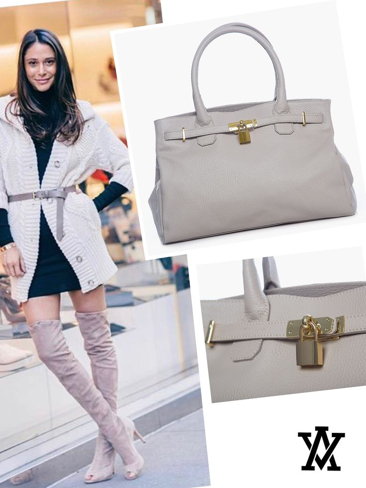 Italian leather handbags  Code: CRISTY beige shoponline➡️www.adelevian.com