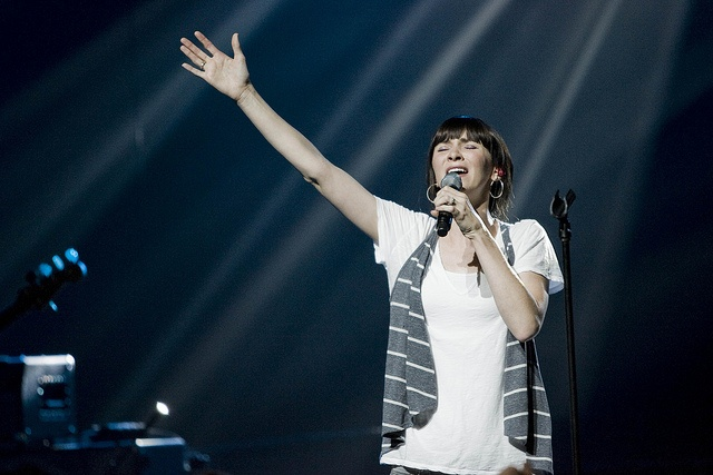 Kim Walker of Jesus Culture - changed my whole understanding of worship
