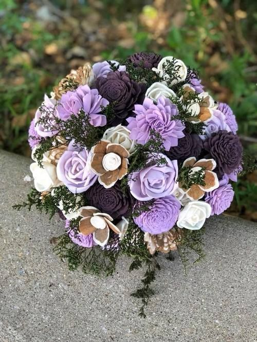 Southern Blooms Co Offers Sola Wood Flower Wedding Bouquets Our