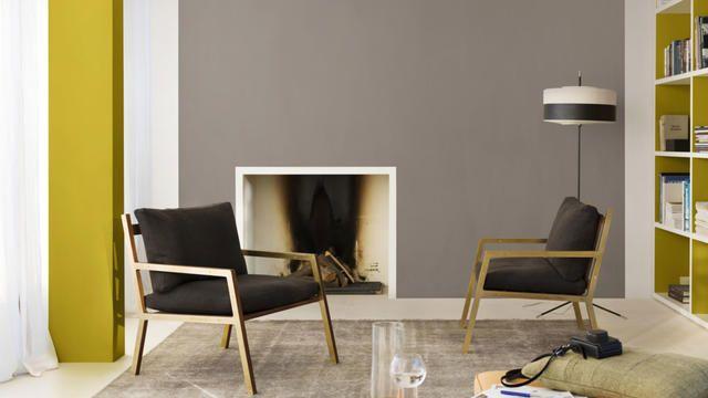Zachte kleuren en pittige details zorgen voor rust in je kamer. Combineer bijvoorbeeld Authentic Grey en Morning Snow met Retro Vibe.
