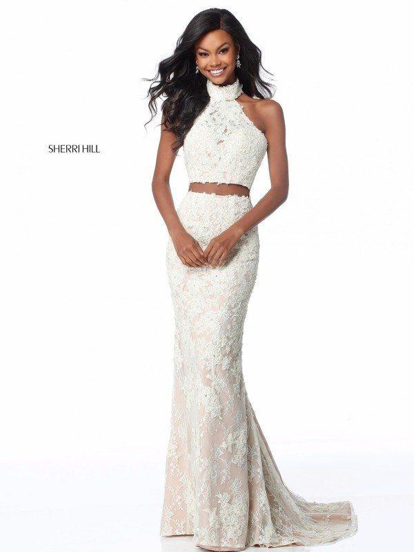 f1e6f93adfab Sherri Hill Style 51770 | Tegan Prom | Two piece gown, Sherri hill ...