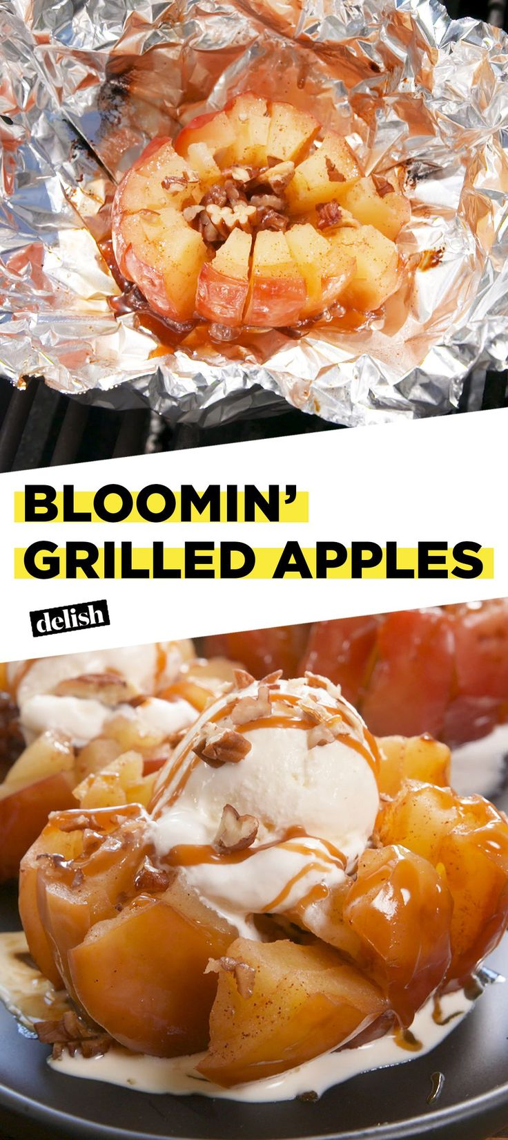 Bloomin' Grilled Apples