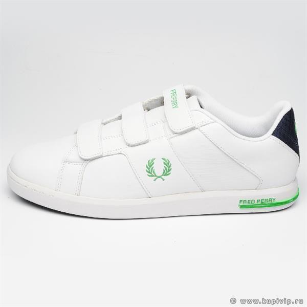 Белые ботинки на липучках