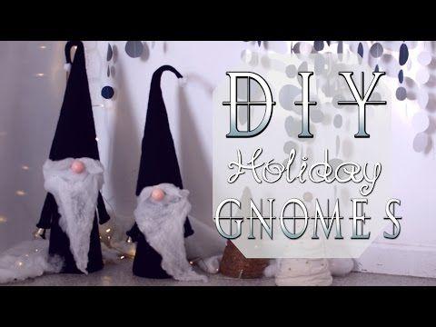 diy nordic holiday gnomes - YouTube