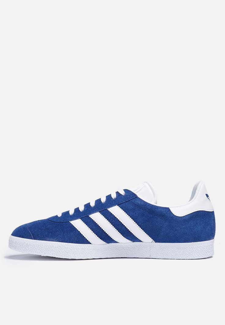 Considered a retro classic, the adidas Gazelle has been a bestseller for three decades and counting. This version honours the early 90s silhouette, seen in the suede upper, leather details and bold colourway. Other features include a Trefoil on the tongue and heel tab, as well as a rubber outsole.