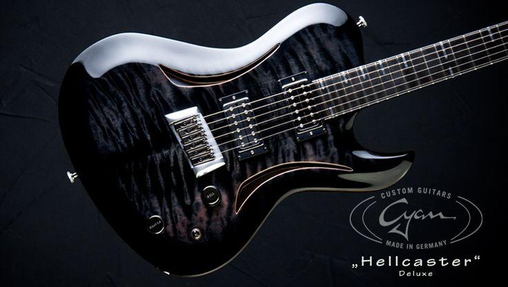 Cyan Guitars Hellcaster Deluxe Gitarre, Farin urlaub