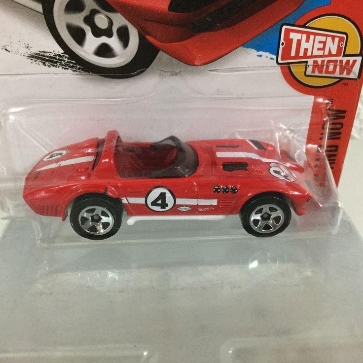 Hot Wheels Corvette Grand Sport Roadster Rojo (2016