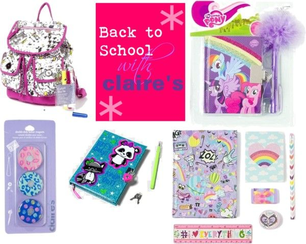 Back to School Starts Pretty with Claire's | Back to ...