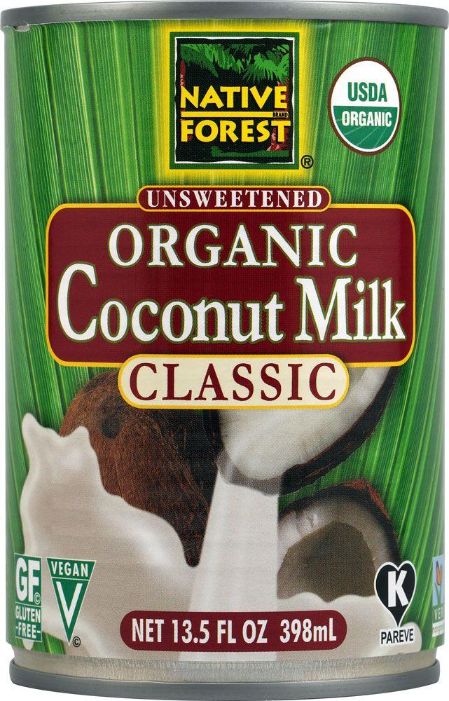 Native Forest Organic Coconut Milk. NON-GMO project verified.
