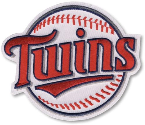 Minnesota Twins MLB Baseball Team Logo Patch (Twins on Baseball)