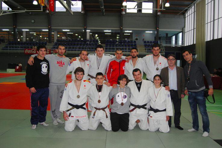 El Club de Judo Valencia Terra i Mar UPV consigue 8 medallas en la Copa de España en Amurrio