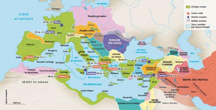 Rome : des guerres civiles aux dimensions d'un Empire