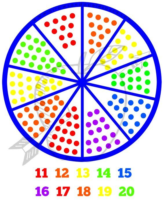 Count And Color Worksheets 11 To 20 Counting To 20 Kids Math Worksheets Color Worksheets